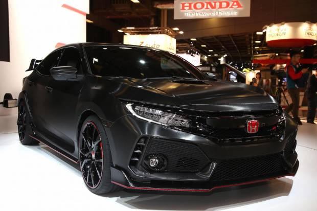 Avance del Honda Civic Type R de 2017 en París