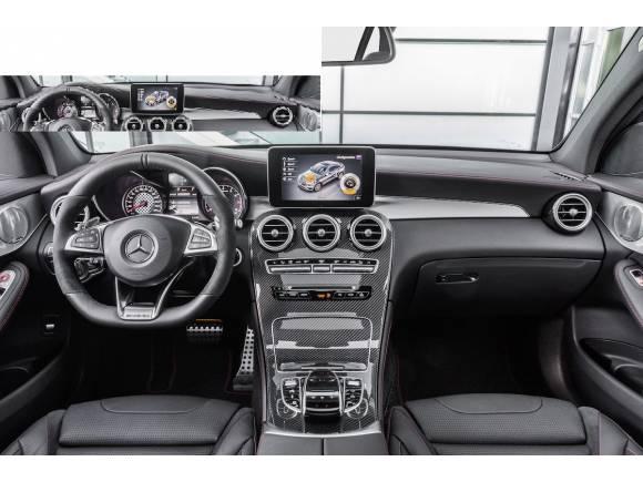 Nuevo Mercedes-AMG GLC 43 Coupé, con 367 CV