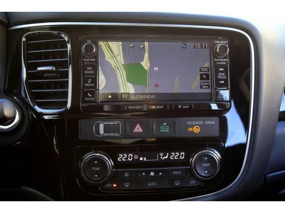 Mitsubishi Outlander PHEV, prueba y opinión, parte 2