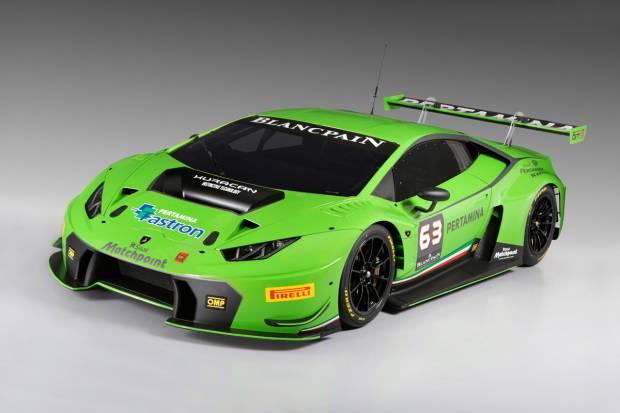 Lamborghini presenta su coche de carreras: Huracán GT3