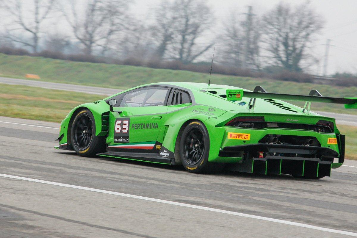 Lamborghini Presenta Su Coche De Carreras Hurac 225 N Gt3