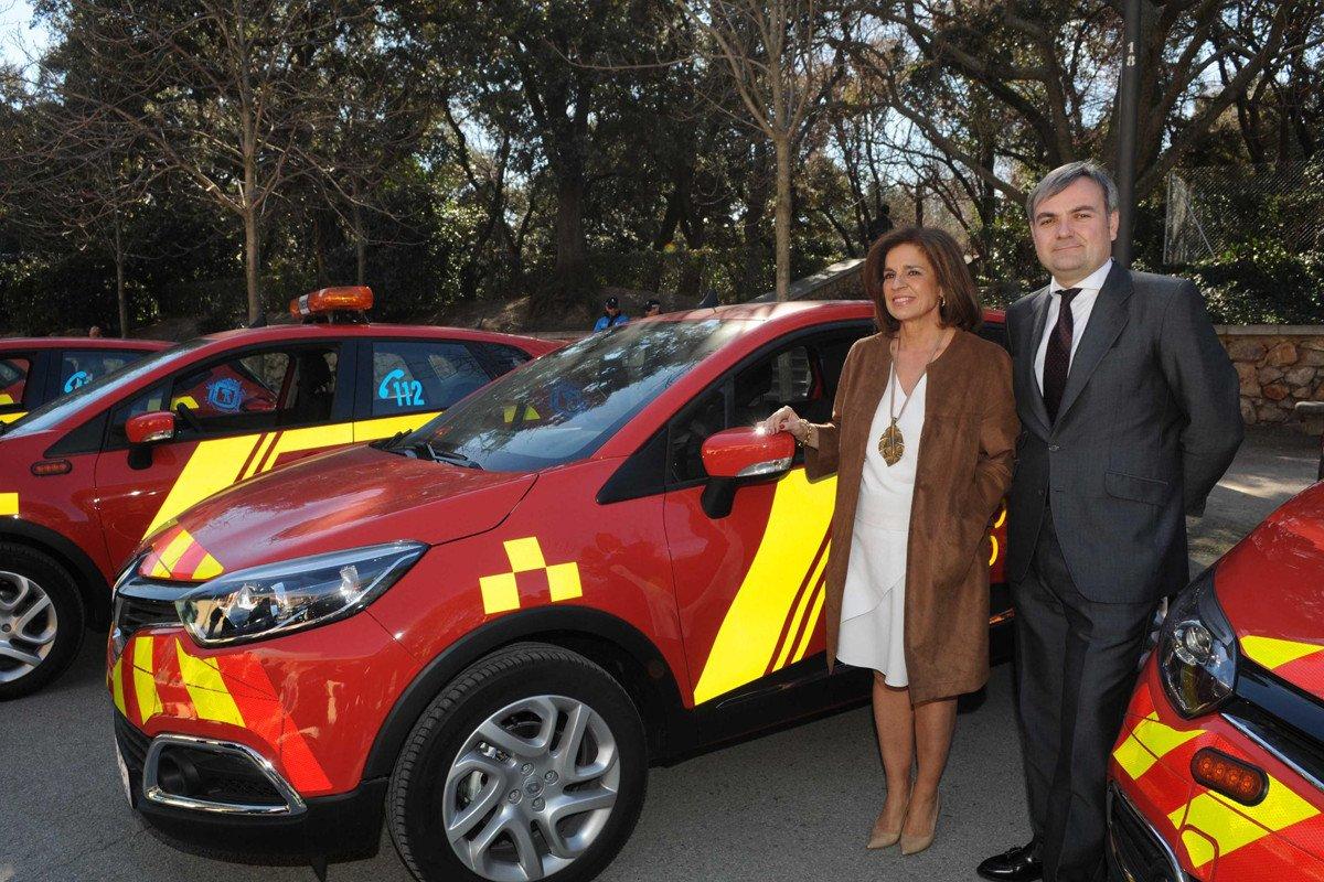 Renault Captur bombero