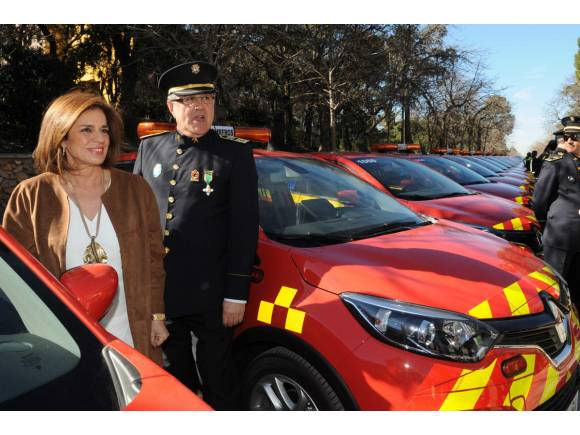 El Renault Captur se viste de bombero