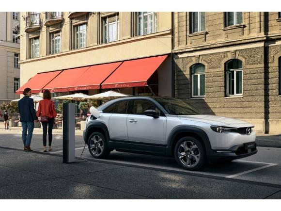 Prueba: motor e-Skyactiv del Mazda MX-30, un coche eléctrico con 200 km de autonomía