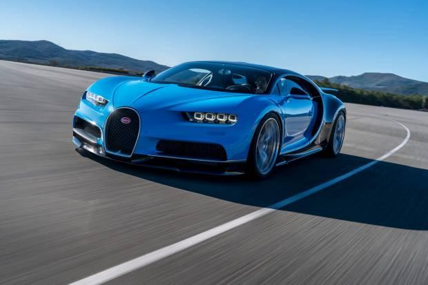 Bugatti Chiron, el coche más rápido del mundo