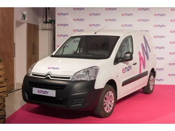 Emov incorpora 5 Citroën Berlingo eléctricos a su flota