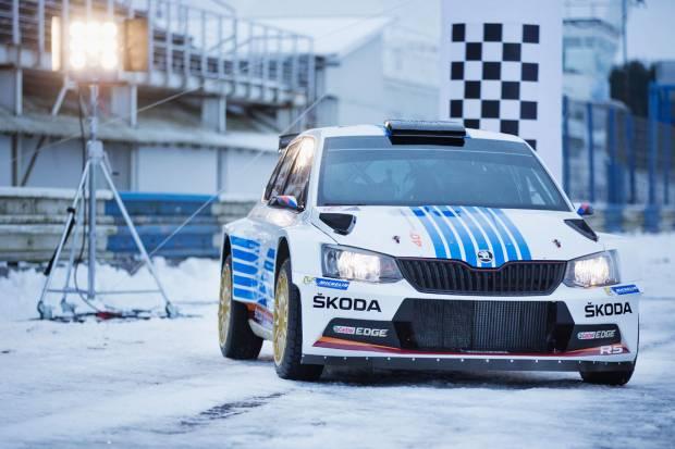 Skoda lucirá una decoración especial en el Rally de Montecarlo
