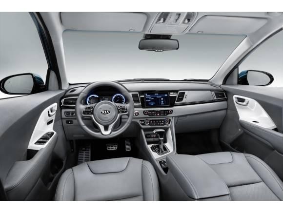 Kia Niro: el nuevo SUV híbrido de Kia