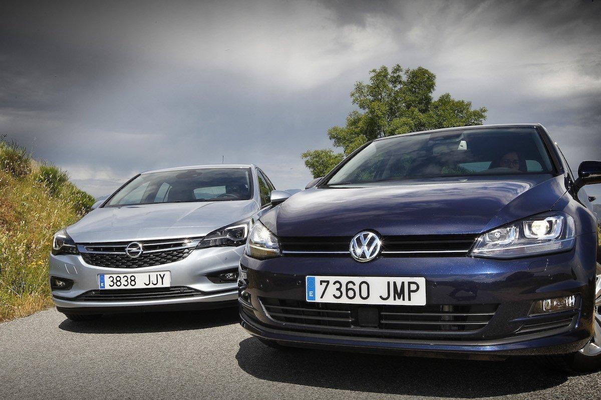 Comparativa Golf Astra