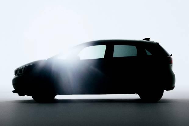 Primera foto del nuevo Honda Jazz