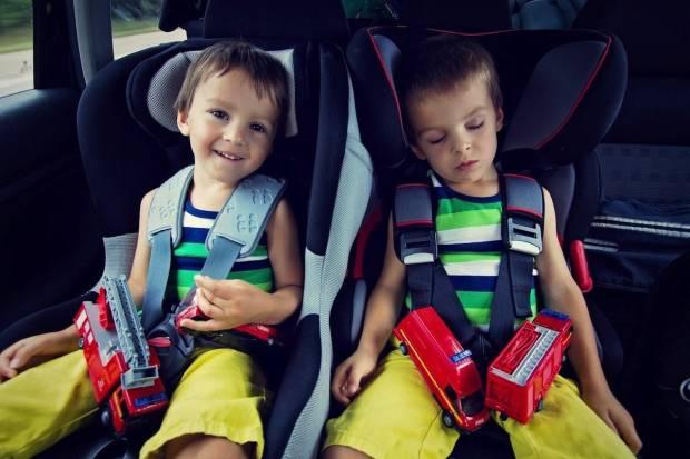 Día Universal del niño: Especial niños seguros en el coche