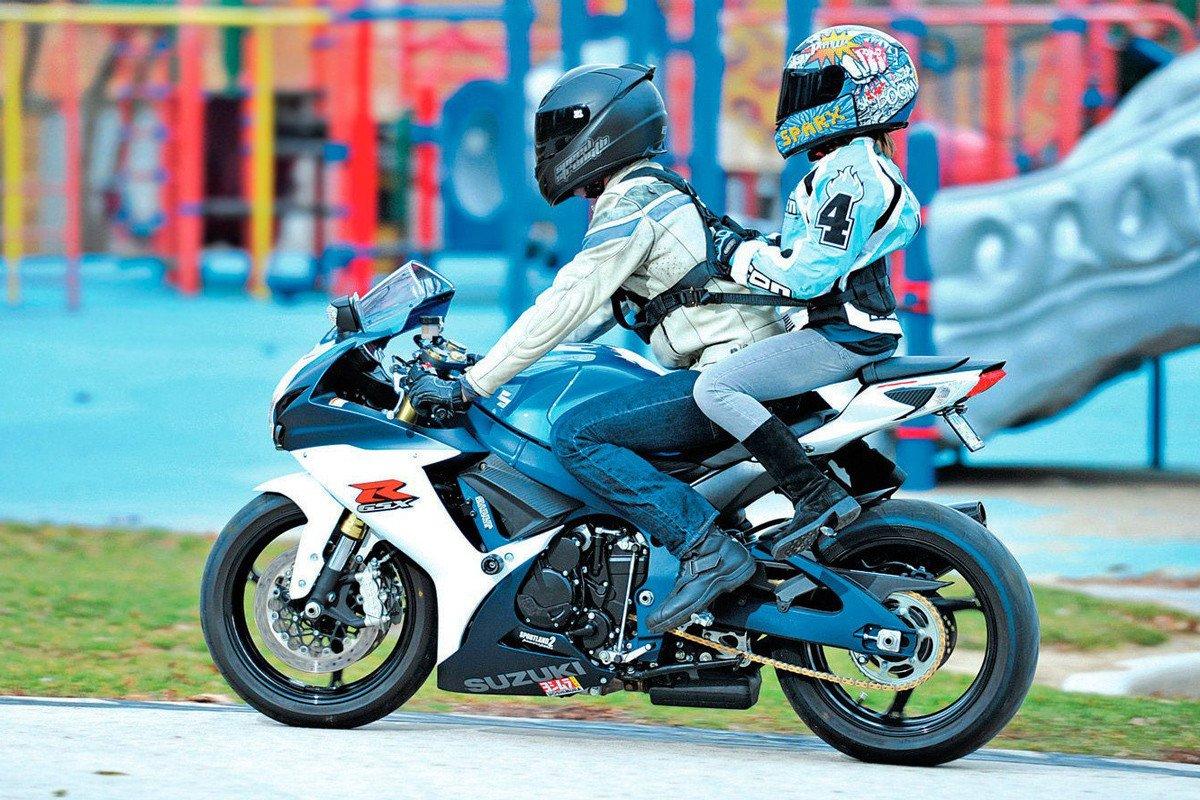 especial niños moto