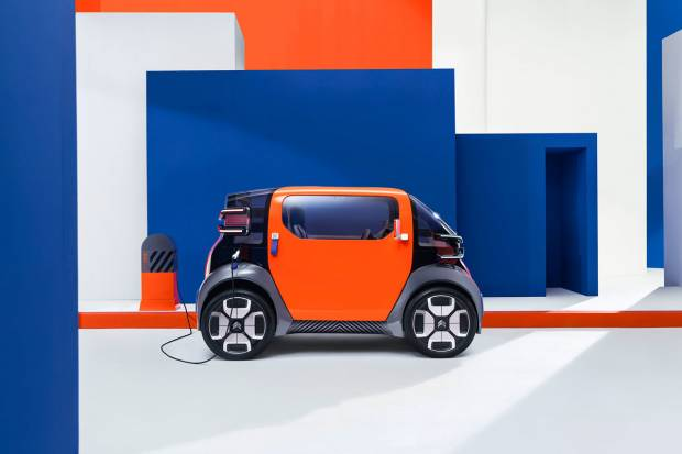 Citroën Ami One Concept: que tiemble el smart