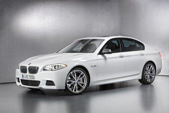 El BMW M550d xDrive no tardará en ser conocido como el M5 diesel.