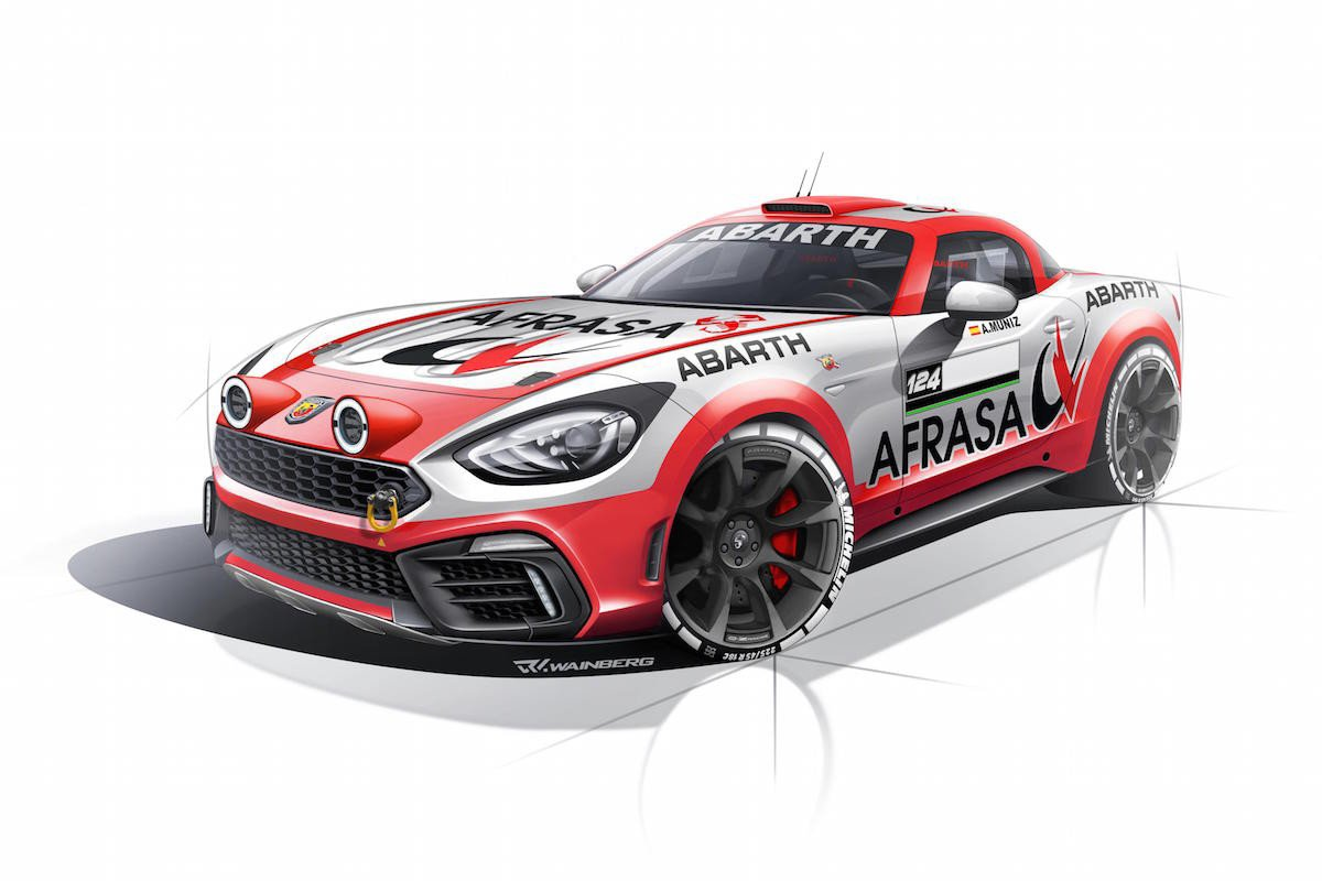 Abarth 124 campeonato rallyes