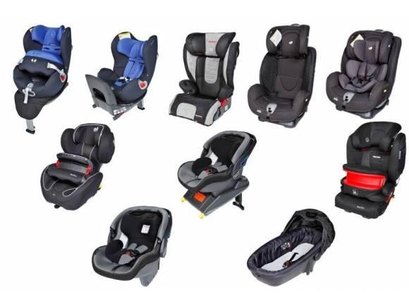 Las sillas infantiles colocadas en contra de la marcha salvan vidas