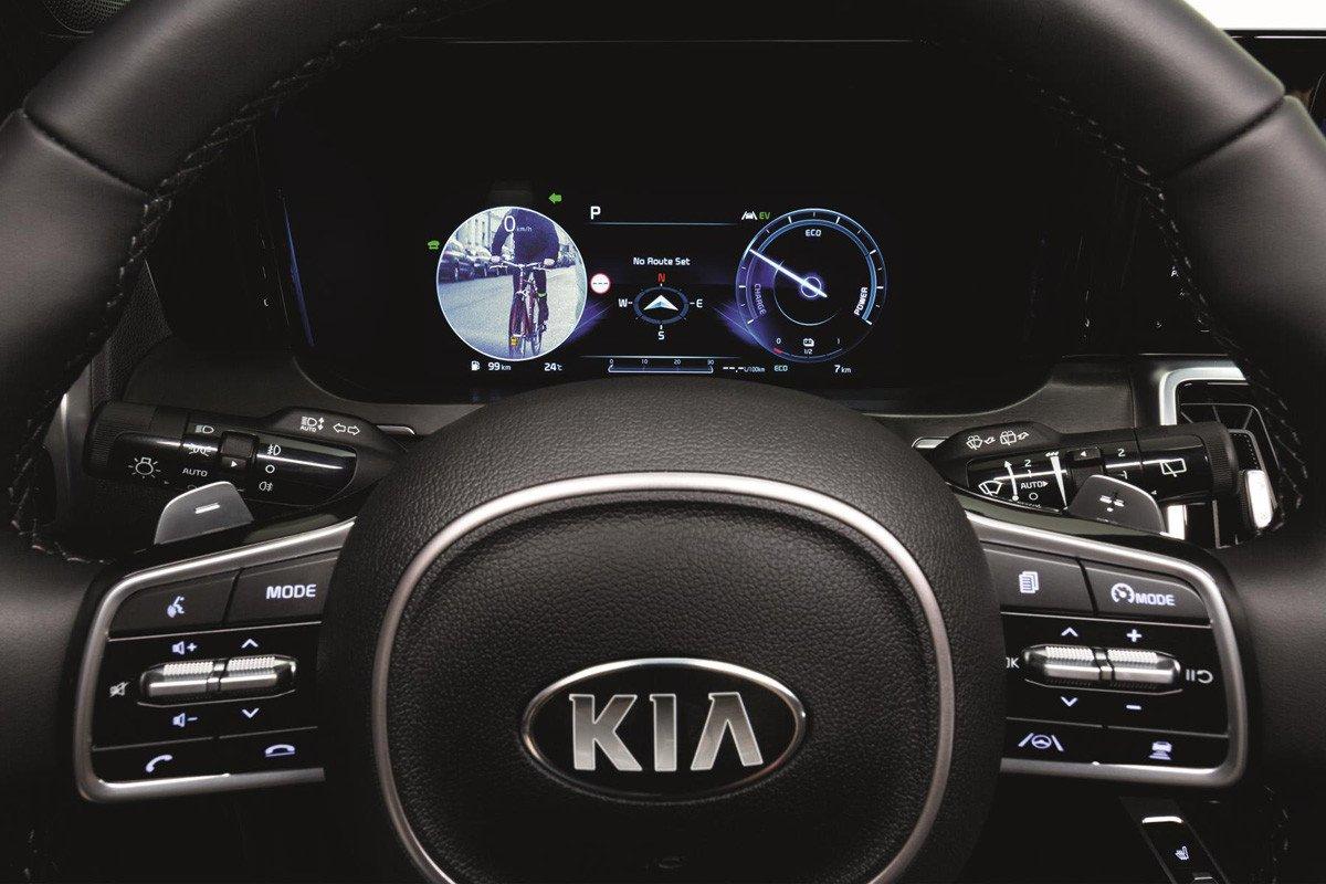 Blind-Spot View Monitor Kia