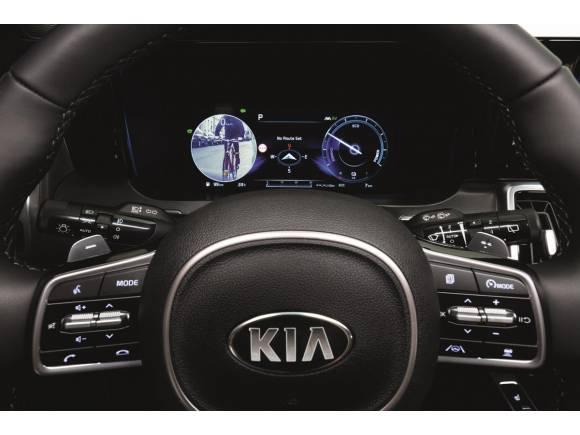 Cómo funciona el Blind-Spot View Monitor de Kia, el novedoso control de ángulo muerto