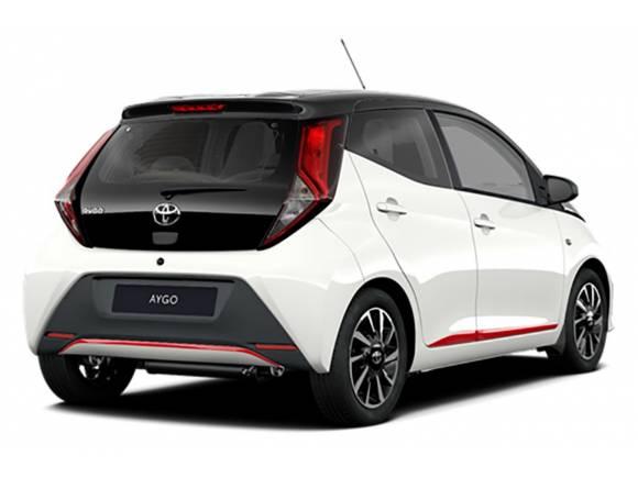 Actualización 2021 para el Toyota Aygo: ahora con acabado deportivo x-sport