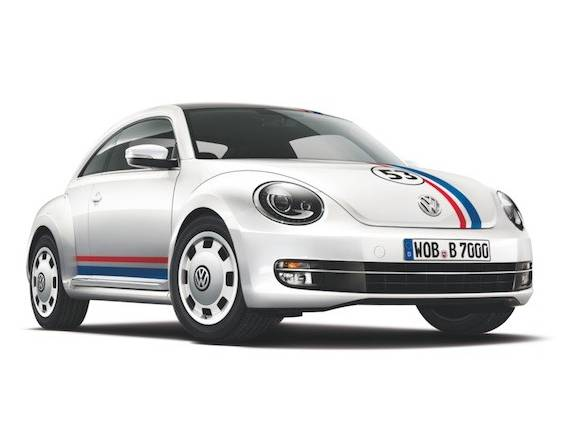 Herbie vuelve en el Volkswagen Beetle 53 Edition