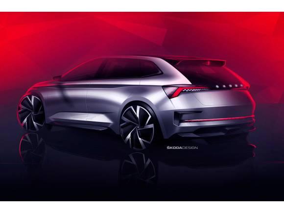 Skoda mostrará su prototipo Vision RS en el Salón de París 2018