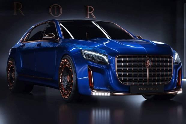 Scaldarsi Motors Emperor I, ¿el Mercedes-Maybach más macarra?