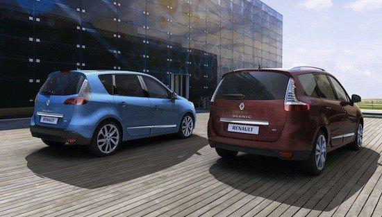 La gama Renault Scenic 2012 sustituye dos de sus motores por unos más limpios.