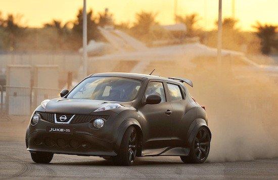 La edición limitada del Nissan Juke-R tendrá 545 CV, 15 más que el show car.