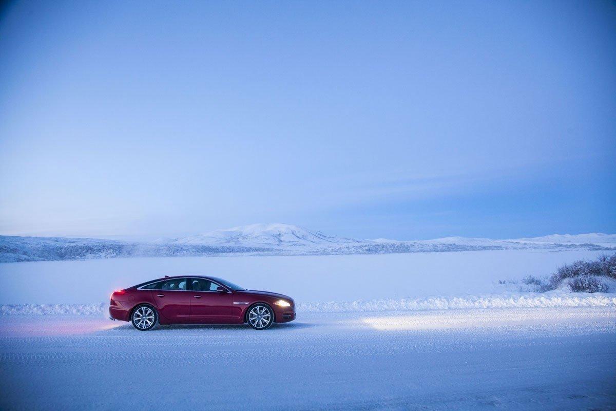 nieve conducción