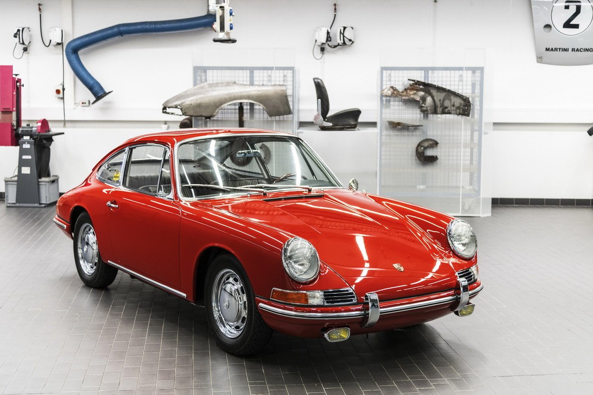 Historia del Porsche 911: primera generación