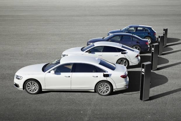 Nuevos Audi híbridos enchufables: combinación inteligente