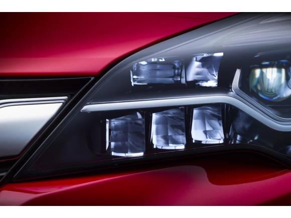 El nuevo Opel Astra estrenará luces LED matriciales